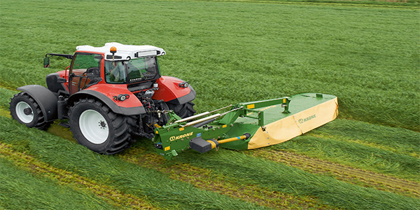 EasyCut F/R Mounted disc mowers